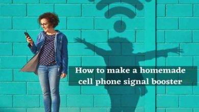 homemade cell phone signal booster